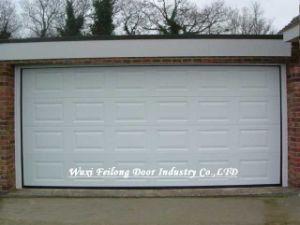 Porta secional remota da garagem