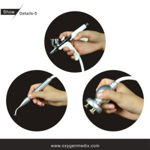 Gicleur de l'oxygène d'Oxypeeling et machine de beauté d'écaillement de diamant (CE, ISO13485 since1994)