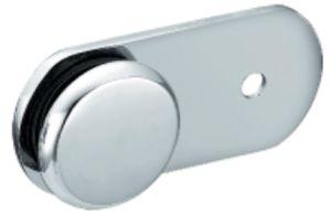 Braçadeira de vidro do único chuveiro lateral de 180 graus (FS-537)