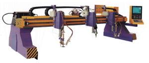 Cortadora del plasma con el dispositivo de la eliminación del polvo