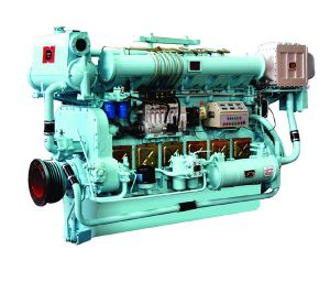 Avespeed N210 441kw-1471kw Medium Speed Air Motor Marine Diesel Power Engine