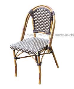 Chaise en bambou de caf de rotin ext rieur de meubles - Meuble rotin exterieur ...