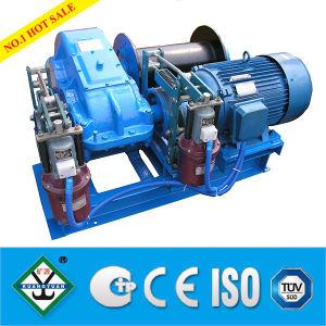 La ISO certificó los tornos eléctricos del cabrestante torno del alzamiento de 10 toneladas