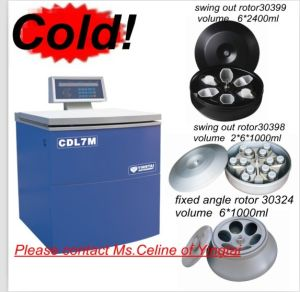 Низкоскоростная центробежка ультра большой емкости Refrigerated (CDL7M)