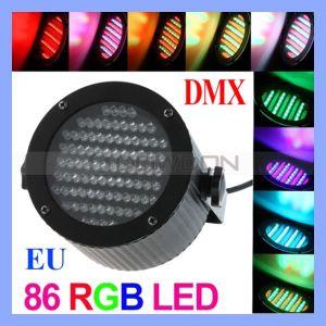 MiniStage Light, Disco LED mit 86LED DJ Stage Laser Light (Stage light-451)