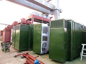 Газ места захоронения отходов серии Avespeed заправил топливом комплект Gensets/Generator