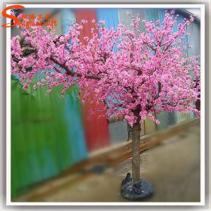 Arbre artificiel en plastique de fleur de cerise de fibre for Arbres en plastique artificiels