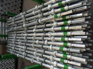 Soporte concreto del encofrado de la construcción|Andamios de acero del sistema de Cuplock