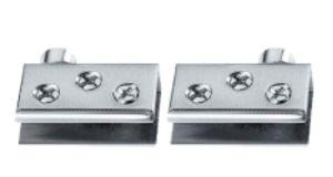 Vidro do Showcase do aço inoxidável/dobradiça de porta de madeira (FS-3062)