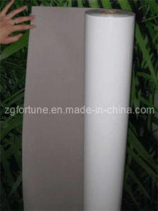 Película rígida do PVC do solvente com parte traseira do cinza (FVP-SPG)