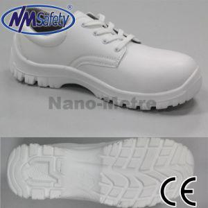 Blanco toe zapatos de trabajo esd cap enfermera de for Zapatos de trabajo blancos