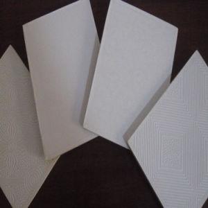 Panneau de gypse perfor de conception de tuile de salle for Panneau fibre de verre salle de bain