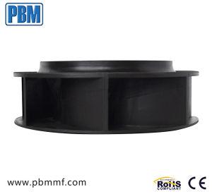 ventilador plástico curvado inverso do centrifugador do Ec do impulsor de 190mm