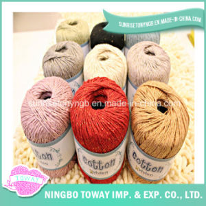 A linha do algodão para DIY caçoa o ofício, tecendo, Sewing, ponto transversal