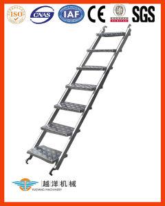 Escada de etapa portátil do Sistema-Alumínio do andaime