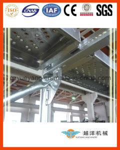 Sistema do andaime da fachada de Layher da alta qualidade