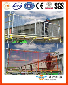 Loading ajustável Bay Gate para Safe Work