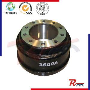 Gunite del tambor de freno para el acoplado del carro y resistente