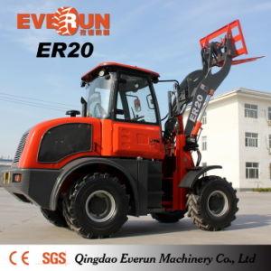 Lader van het Wiel van Everun 2017 de Nieuwe Er20 Multifunctionele met Ce