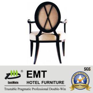 Chaise en bois d'hôtel d'excellente conception dinant la chaise (EMT-HC49)