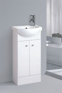 PVC Sanitaryware虚栄心の浴室用キャビネット(398)