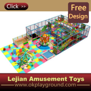 Console Indoor Playground de New Happy dos cabritos para Mall com GV Certificate