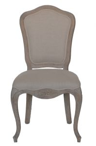 De antieke barokke houten stoel van de eetkamer van de stijl van het ontwerp franse cf 1801 - Stoel dineren baroque ...