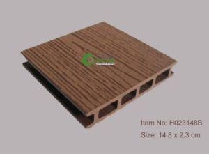 Madeira serrada plástica de Ocox Eco, Decking plástico da madeira serrada (HO02515)