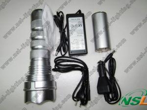 lampe-torche CACHÉE rechargeable de lumière de la torche 24W (NSL-24W)