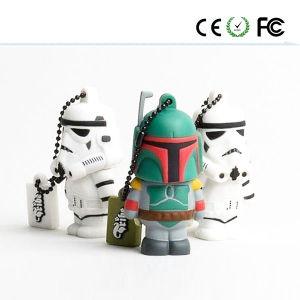 Flash USB de PVC de Guerra de Galaxias (interruptores)
