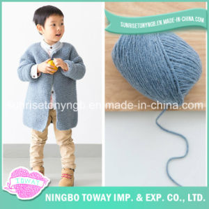 Main Usine de gros bébé Knitting alpaga fil pour tricoter Pull
