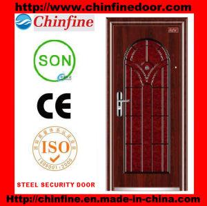 Porte extérieure d'acier (CF-011)