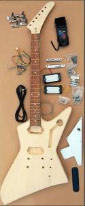 Kits de /Wooden de kit de guitare/guitare électrique (GK-406)