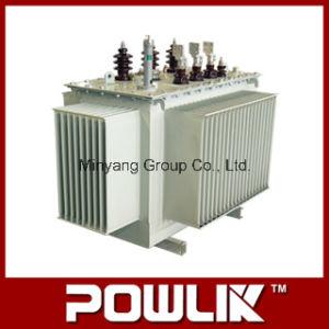 Transformador de distribuição imerso em óleo da série S11-M de 11kv