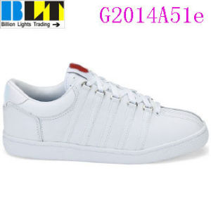 Blt Girl's Timeless Leather Tennis Style Sneaker Shoes