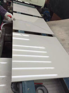 tuile Polished de couleur d'ivoire de 60X60cm avec du CE approuvé (E36000)