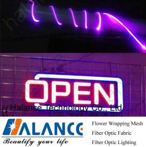 De zij Optische Kabel van de Lichte Vezel voor de Open Lichten van het Teken