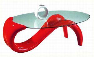 (SJ-055 번호) 홈 가구 유럽 디자인 강화 유리 커피 테이블 – (SJ-055 ...