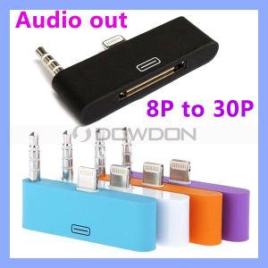 Blitz 8pin zu 30pin Dock Audio Charger Adapter für iPhone 5 5s 5c