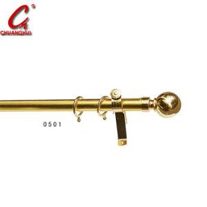 窓金物のカーテンアルミニウム棒