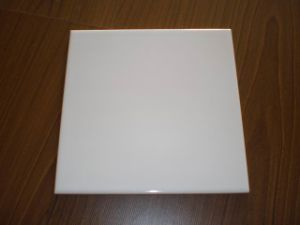Mattonelle di ceramica lucide delle mattonelle bianche - Piastrelle bianche 30x30 ...