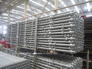 Andamio concreto de la cerradura de la taza del encofrado del metal del apoyo de la construcción