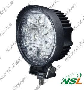 27W 4 Inch EMC DEL Work Light 10-30V Flood et Spot DEL Work Light