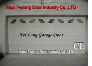 Porta da garagem --- Secional, aéreo, de controle remoto