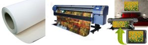 Polyester lucido Canvas per Digital Printing