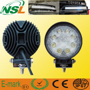12V 24W DEL Driving Light DEL Truck Lights (NSL-2408R)