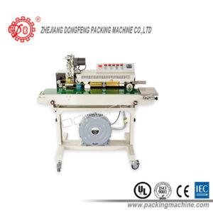 Colorer la machine continue de mastic de colmatage de bande d'impression de bande (DBF-1000)