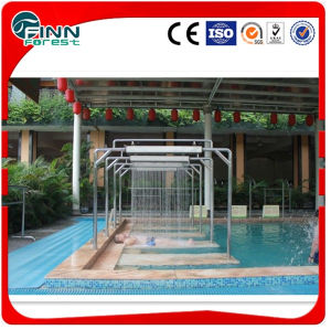 Piscine ou cascade criture ligne par ligne d 39 acier for Piscine thermale