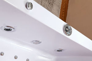 Rectángulo interior Usando Bañera del masaje (TLP-658)