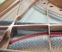 Instruments de musique de piano à queue de noir de Schumann (GP-212)